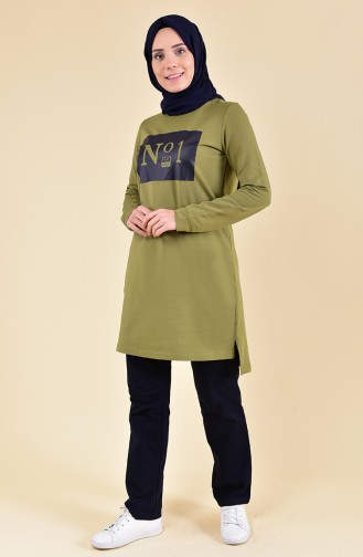 BWEST Tracksuit 8308-08 Oil Green 8308-08