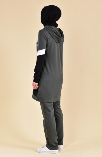 BWEST Garment Sport Tracksuit 8339-05 Khaki 8339-05