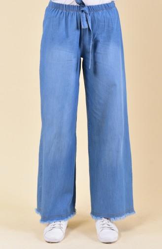 Jeansblau Hose 1007-01
