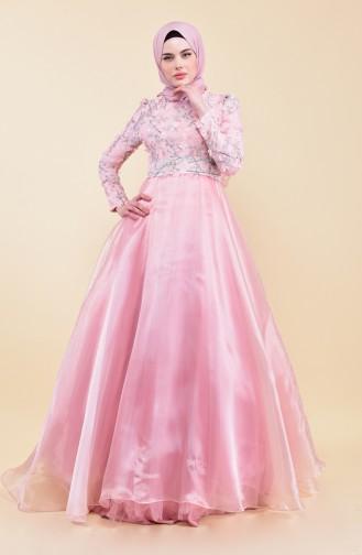 Robe de Soirée 7044-02 Rose 7044-02