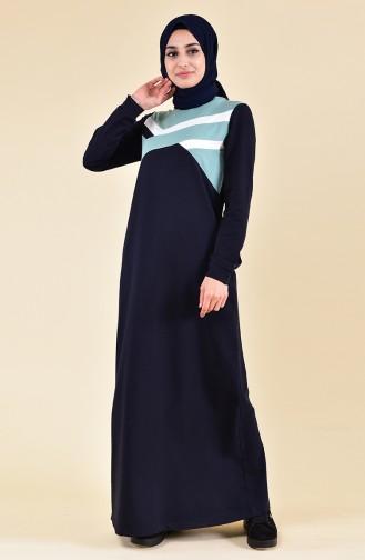 Garnili Spor Elbise 8318-03 Lacivert