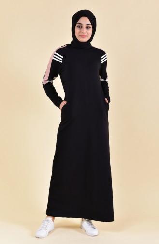 BWEST Sport Dress 8322-01 Black 8322-01