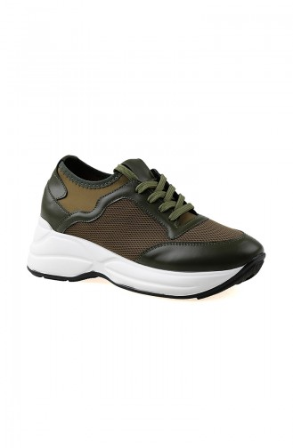 Bayan Spor Ayakkabı 50129-02 Yeşil 50129-02