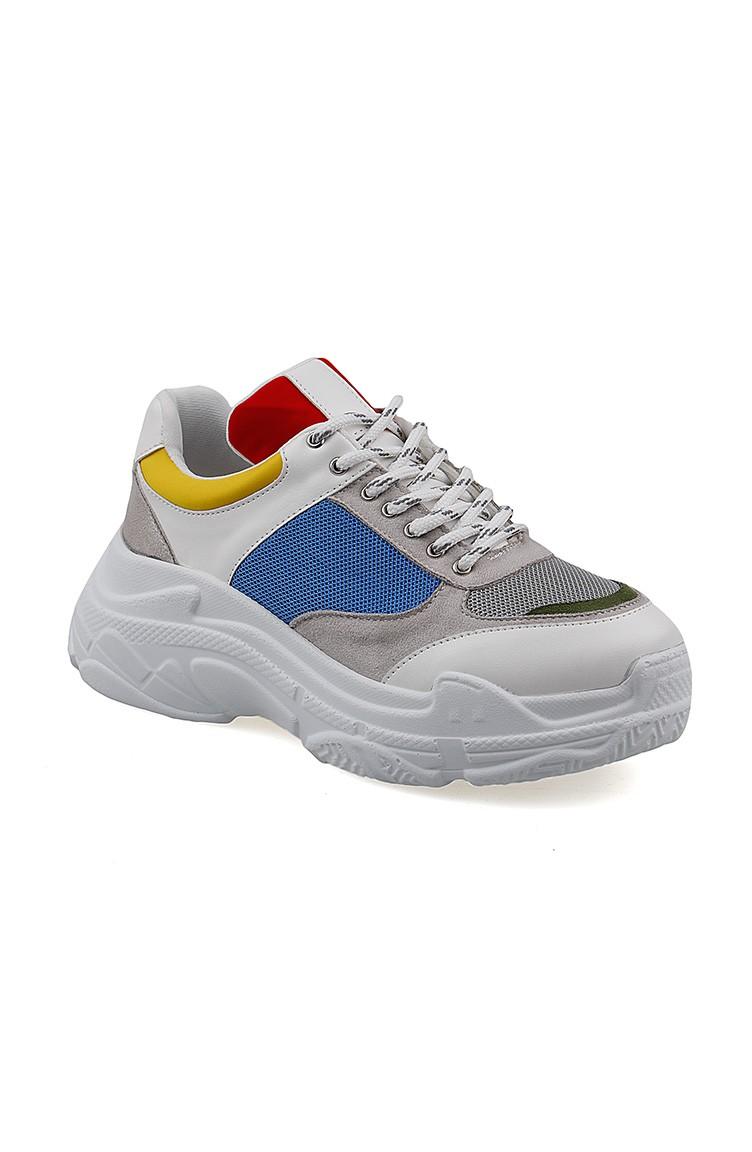 Sport Roi Femme Pour 6163 Bleu Chaussures Blanc 01 htsCBQdxr