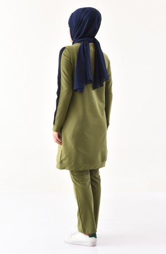Cepli Eşofman Takım 8390-01 Yağ Yeşil