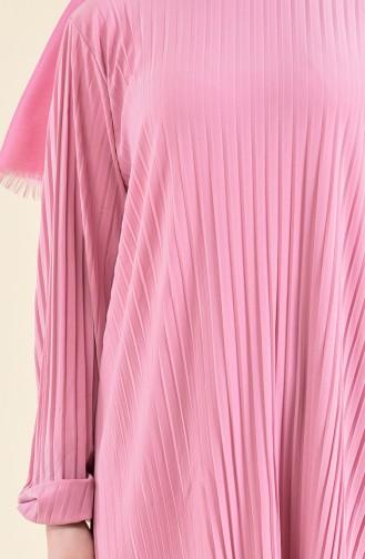 Piliseli Tunik Pantolon İkili Takım 189912-11 Pudra