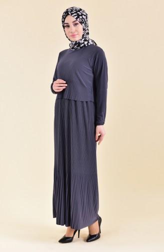 Pleated Dress 5248-03 Smoked 5248-03