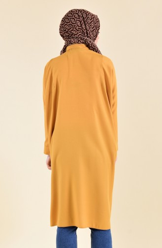 Oyya Sleeves attached Tunic 8122-10 Mustard Yellow 8122-10