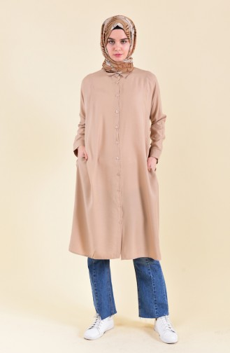Oyya Sleeves attached Tunic 8122-11 Mink 8122-11