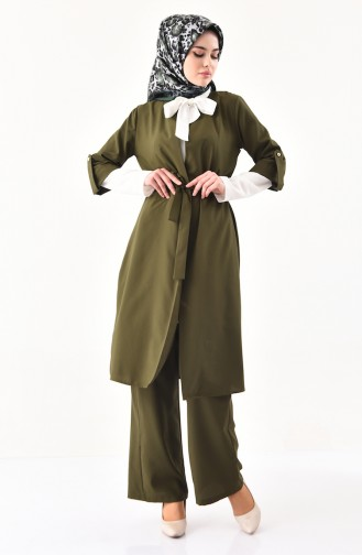 Cape Pants Binary Suit 1199-04 Green 1199-04