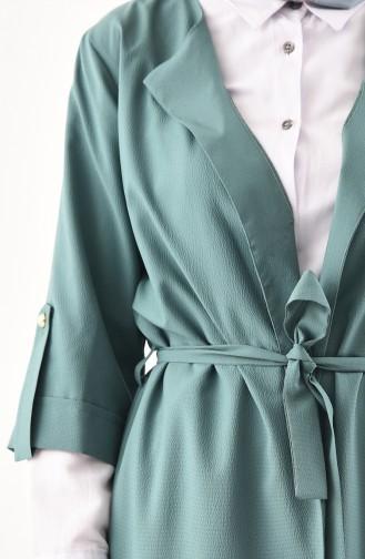 Kap Pantolon İkili Takım 1199-05 Çağla Yeşili