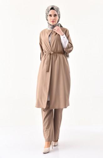 Cape Pants Binary Suit 1199-06 Mink 1199-06