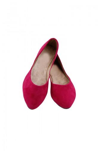 Women´s Flat Shoes Ballerina 0114-13 Fuchsia 0114-13