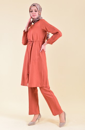 Pocket Cape Pants Binary Suit 5106-01 Orange 5106-01