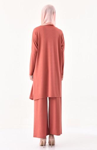 Tunic Pants Binary Suit 7810-01 Dried Rose 7810-01