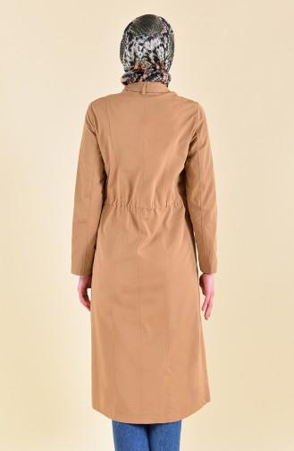 Beli Elastic Trench Coat 5115-02 Camel 5115-02