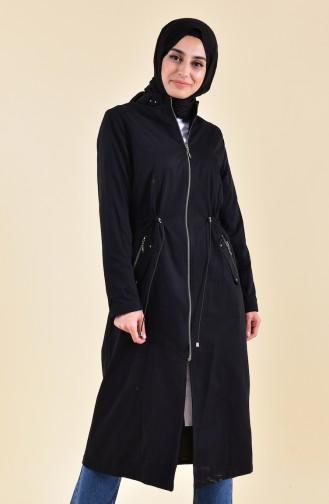 Beli Elastic Trench Coat 5115-03 BLACK 5115-03