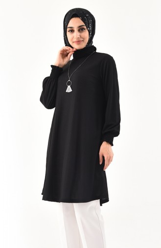 Necklace Tunic 1017-02 Black 1017-02