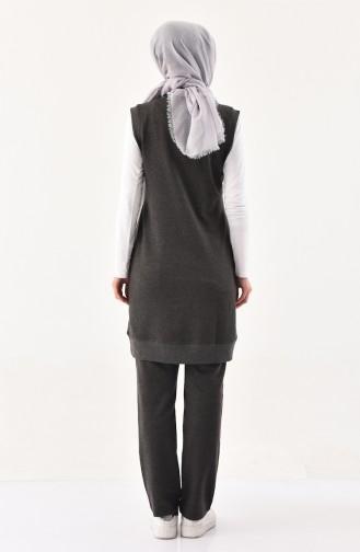 Vest & Pants Tracksuit 8325-04 Anthracite 8325-04