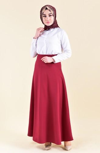 Crepe Skirt 8149-03 Bordeaux 8149-03