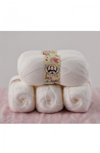 Ören Bayan Lux Baby Fils a Tricoter 3010-111 Blanc 3010-111