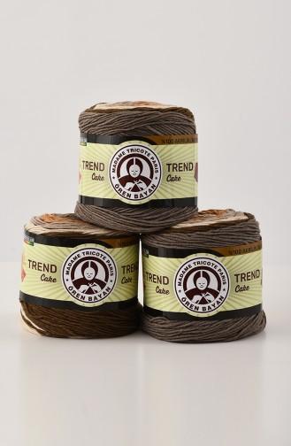 Ören Bayan Trend Cake Batik Fils à tricoter 3025-624 Vison Beige 3025-624