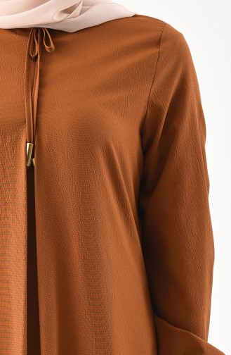 Robe a Lacets 1000-08 Tabac 1000-08