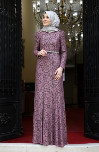Habillé Hijab Rose Pâle 3206-02