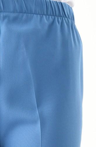 Pantalon Large élastique 4078-04 Bleu 4078-04