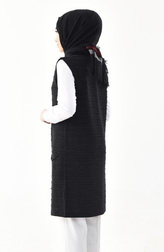 iLMEK Fine Knitwear Pocketed Vest 4125-05 Anthracite 4125-05