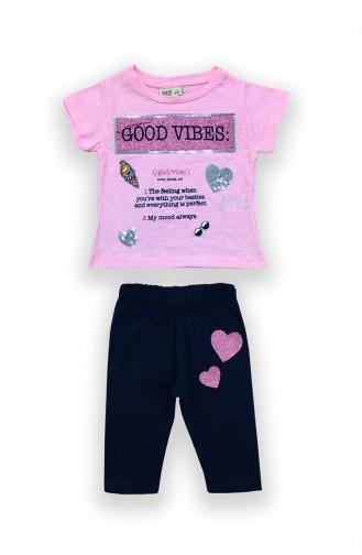 Pink Baby & Kid Suit 9526