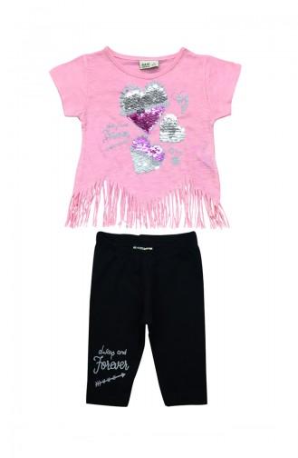 Pink Baby & Kid Suit 9534