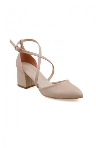 Beige High Heels 0160-02