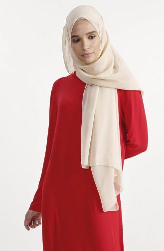 Basic Elbise 1243-03 Kırmızı