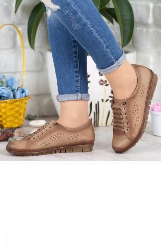 Bulldozer Kadın Günlük Ayakkabı A192Ybul0004049 Vizon Deri