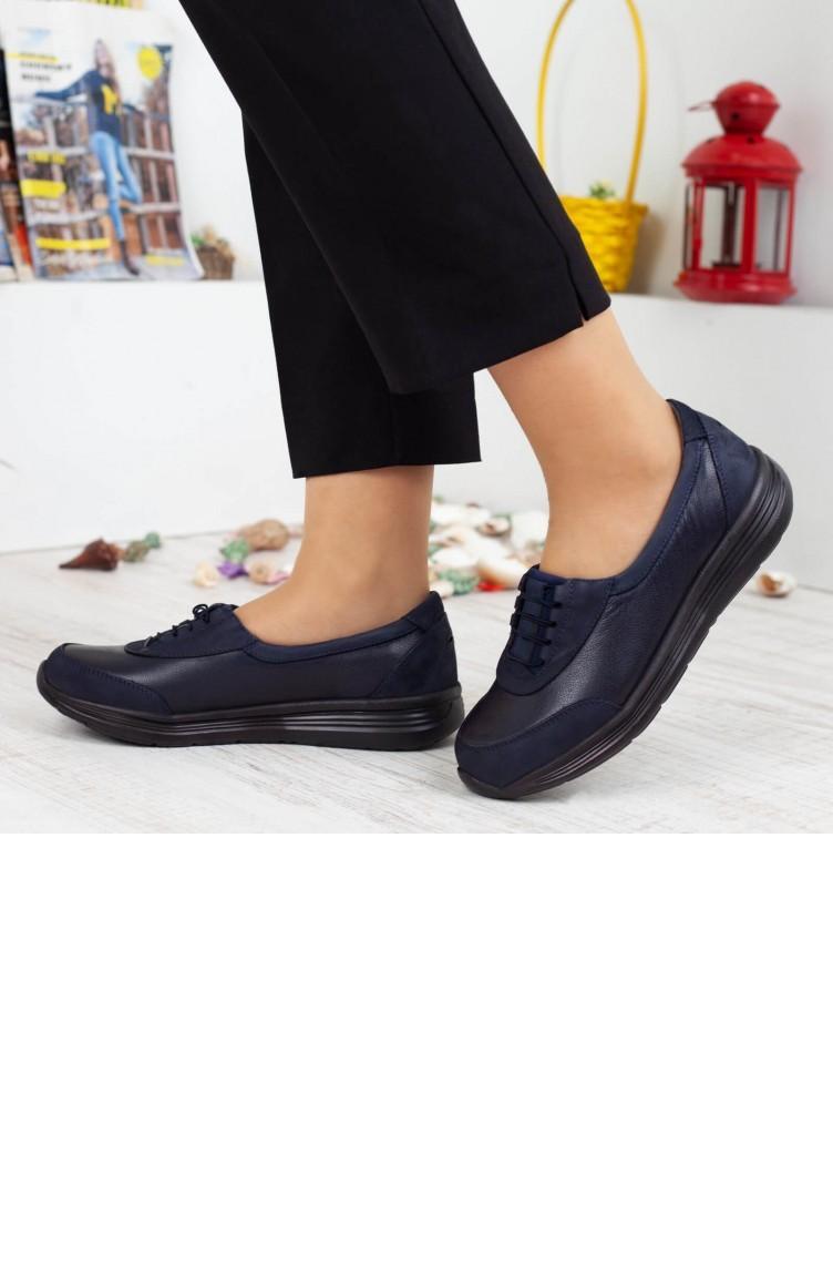 0043ac4d6 فوريلي حذاء نسائي بتصميم طبي A192Kfrl0002007 لون كحلي جلد 192KFRL0002007