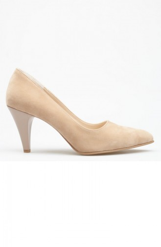 Beige Heeled Shoes 162YVTR0004064