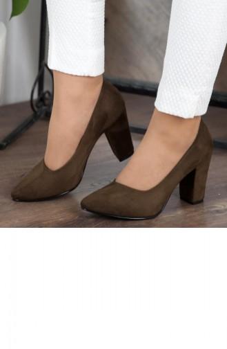 Green Heeled Shoes 172YAKT0002042
