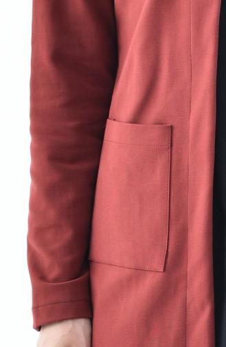 Veste avec Poches 8006A-02 Bordeaux 8006A-02