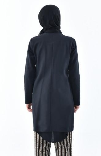 Veste avec Poches 8006A-03 Noir 8006A-03