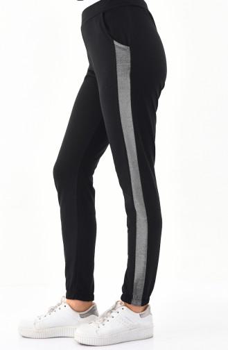 Striped Sport Pant 0011-01 Black 0011-01