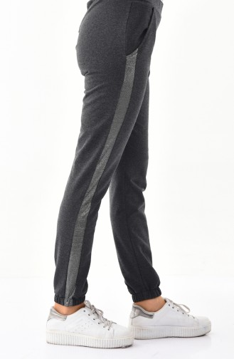Striped Sport Pant 0011-02 Smoked 0011-02