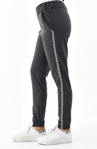 Striped Sport Pant 0013-02 Smoked 0013-02