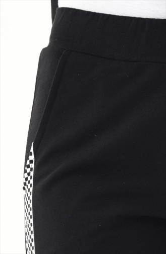 Striped Sport Pant 0012-01 Black 0012-01