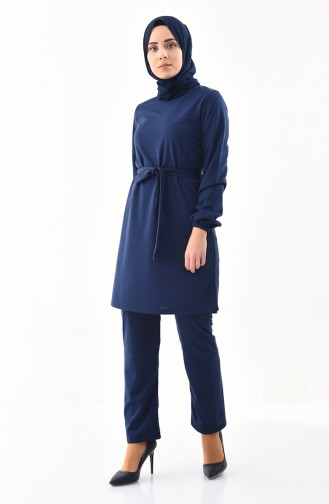 Tunic Pants Binary Suit 9013-05 Navy Blue 9013-05