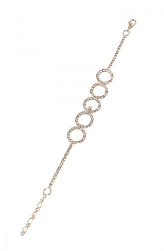 Rose Bracelet Plaqué or Cristal 08-0403-48-23-01 Rose 08-0403-48-23-01