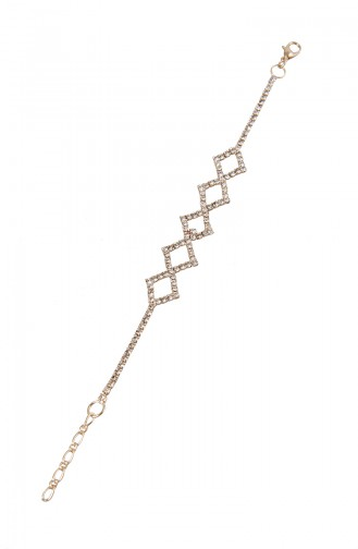 Rose Bracelet Plaqué or Cristal 08-0404-48-23-01 Rose 08-0404-48-23-01