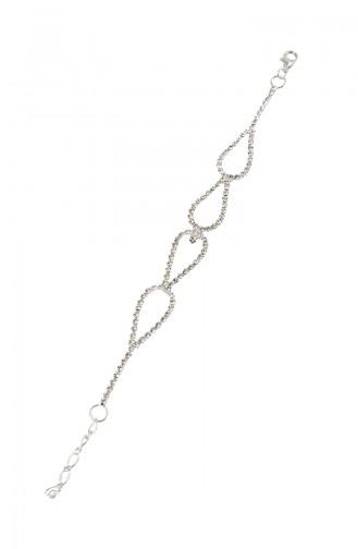 Silver Gray Bracelet 08-0405-48-10-01