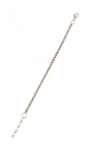 Rose Bracelet Plaqué or Cristal 08-0406-48-23-01 Rose 08-0406-48-23-01