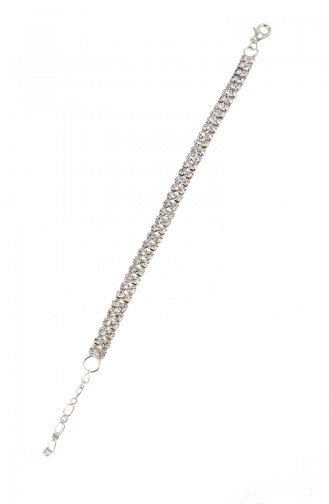 Silver Gray Bracelet 08-0407-48-10-01